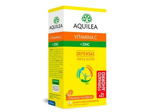 Aquilea Vitamina C + Zinc_Farmacia I+